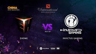 EHOME vs Invictus Gaming, TI9 Qualifiers CN, bo1 [Adekvat]