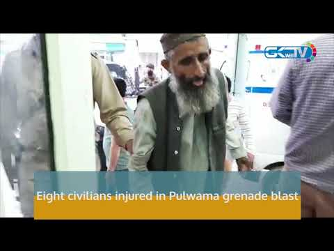Eight civilians injured in Pulwama grenade blast