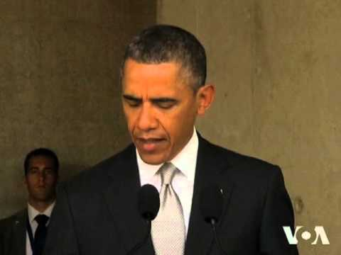 Obama Visits Holocaust Memorial, Church of Nativity, as Middle East Visit Continues