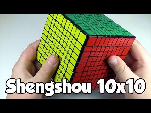 Shengshou 10x10 and Fangshi 2x2 Unboxing!