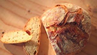 Cómo hacer pan rústico de panadería