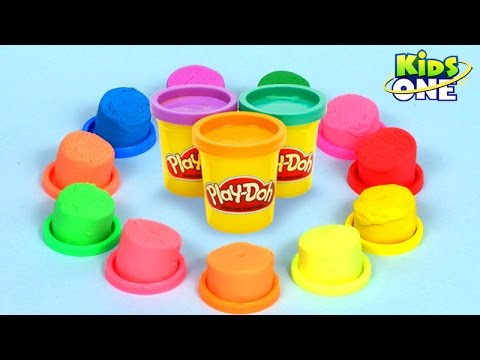 Play and Learn Colors with Play Doh | Fun and Surprises For Children