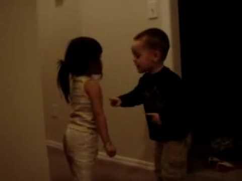 Cute babies fight :)