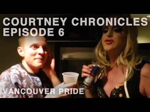 Adore's stage dive fail & other debauched happenings in Vancouver - Courtney Chronicles Episode 6