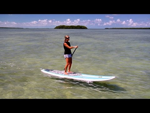 Paddleboarding in the Florida Keys