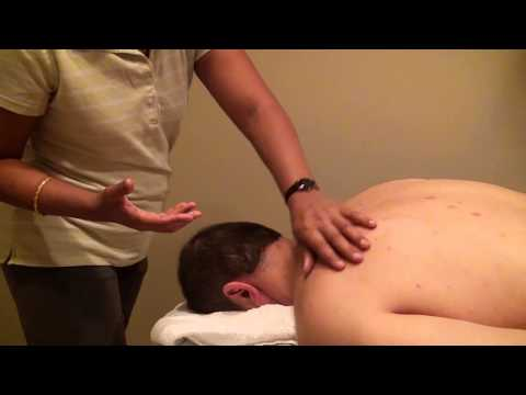 Medical Massage  For Non-Surgical Treatment Of The Cervical Herniated Disc