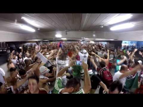 Saída Bravo 52 - Fluminense 2  x 0 Liverpool/URU - O Bravo Ano de 52 - Fluminense