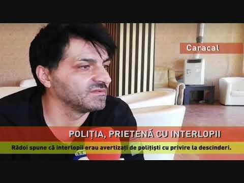 Poliția din Caracal, acuzată că este pe mână cu interlopii