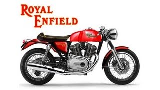 10. 2014 Royal Enfield Continental GT Promo Video