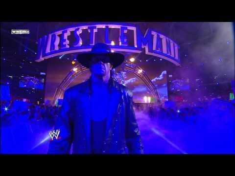 Undertaker makes his entrance: WrestleMania 27