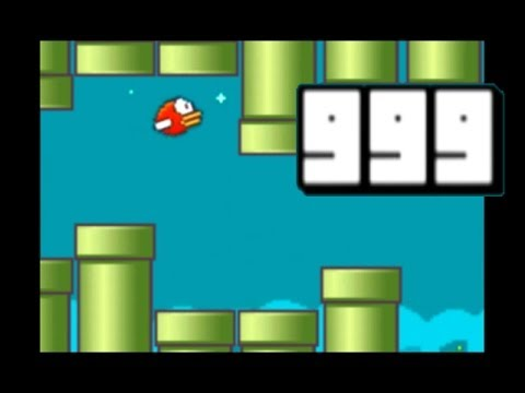 What happens when you reach level 999 of Flappy
