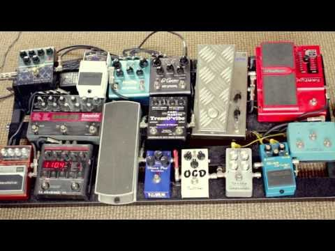 Tech 21 Liverpool direct in pedalboard