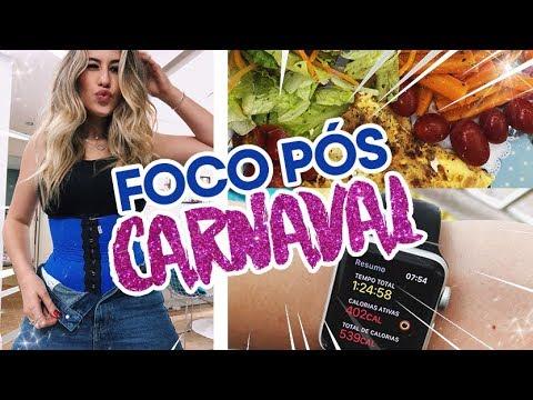 FOCO PÓS CARNAVAL  DIÁRIO DA DIETA #15