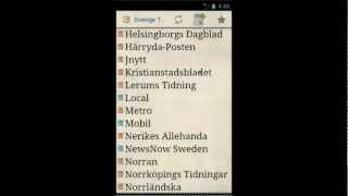 Sverige Tidningar YouTube video