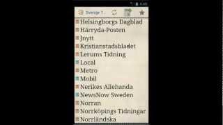 Sverige Tidningar YouTube video