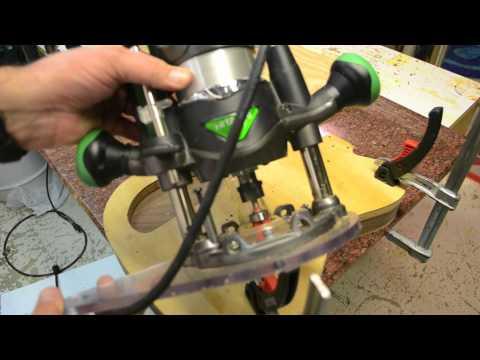 Custom Tele Guitar Build Process Inside the Luthier's Shop Jigs Templates no cnc telecaster building