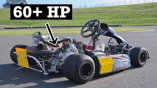 2 Stroke Swapped Shifter Kart is SUPER FAST!! by TJ Hunt