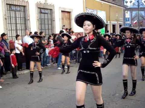 bastoneras - marquesada 2010 desfile por lasw calles.