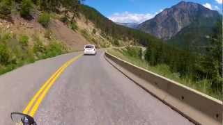 Lillooet (BC) Canada  city photo : Highway 99 Into Lillooet, BC. Helmet Cam