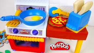 Play Doh Food Kitchen Meal Makin Play Dough Pizza Yummy Like Real Food Playset