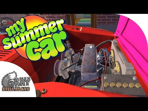 All Performance Parts Installed, Getting Ready to Race – My Summer Car Gameplay Highlights Ep 15