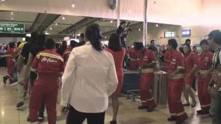 Video Poco-poco at LCCT Kuala Lumpur Performed by AirAsia's Allstars MP3, 3GP, MP4, WEBM, AVI, FLV Juli 2018