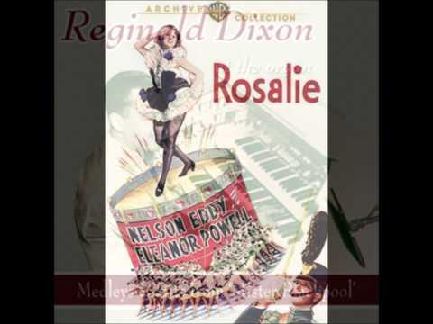 Reginald Dixon (UK Theatre Organist) - 'Lambeth Walk', 'Rosalie' & 'I Double Dare You'