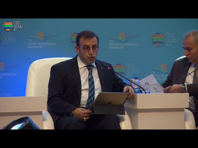 1. Panel Refik Tuzcuoğlu Çevre ve Şehircilik Bakanlığı Müsteşar Yardımcısı (30 Kasım 2017)