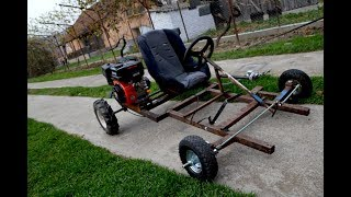 Download Video Homemade Go Kart 200cc !?  PART 1 MP3 3GP MP4