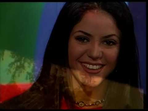 Shakira video Primer entrevista TV Argentina - CM | 1996