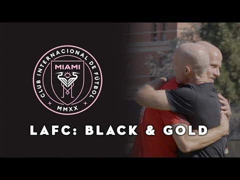 Inter Miami CF Logo Reveal, Father & Son Legacy In MLS | LAFC: Black & Gold