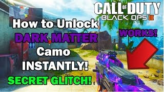 ♔SUBSCRIBE! for the FRESHEST! B03 Zombies Videos!♔Support the video by spending 1 second clicking the 'Like' Button!Thanks :) Black Ops 3 - For Dark Matter Camo And Master Prestige Pay $30 US on Paypal to:gkb9405@gmail.com*Note: When sending the money Through Paypal please attach your PSN: Email and Password so the Dark Matter camo can be installed on your Account :)PS4 ONLY, sorry my mate doesn't know how to do it for Xbox One Enjoy your new Epic Dark matter camo :) ♔SUBSCRIBE! for the FRESHEST! B03 Zombies Videos!♔Support the video by spending 1 second clicking the 'Like' Button!Thanks :)FOR ★VIP★ ACCESS TO ALL MY GLITCH VIDEOS LIKE! MY FACEBOOK PAGE!http://www.facebook.com/applemastered