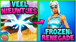 FROZEN RENEGADE RAIDER!!! VEEL NIEUWTJES!! - Fortnite: Battle Royale