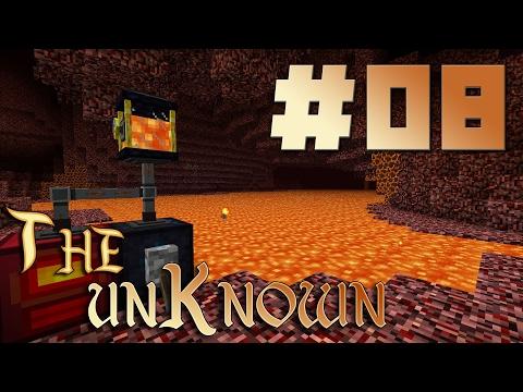 Майнкрафт 1.10.2 с модами - The Unknown - Моря лавы - EP08