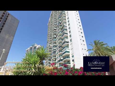 Cheap beautiful apartment in Benidorm 100 m from the sea overlooking the sea