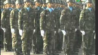 18JAN11 THAILAND's NEWS 3of6; The Bangkok Soldiers' Attestation And Parade Ceremony To The Royal Sta