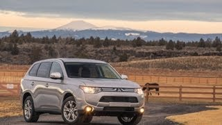 2014 Mitsubishi Outlander Start Up And Review 2.4 L 4-Cylinder