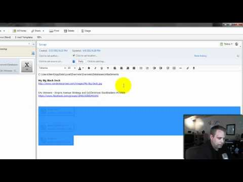 Using Excel and Evernote Digital Scrap Paper