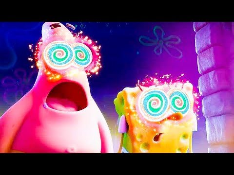 ALL SPONGEBOB SQUAREPANTS MOVIES (2004-2020) Animation, Trailers HD