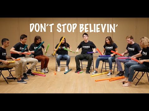Don't Stop Believin' on Boomwhackers