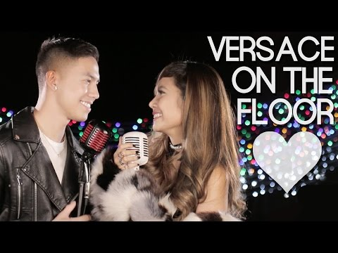 Video Bruno Mars - Versace On The Floor (Myrtle Sarrosa and Tony Labrusca Cover) download in MP3, 3GP, MP4, WEBM, AVI, FLV January 2017