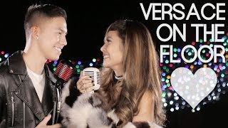 Video Bruno Mars - Versace On The Floor (Myrtle Sarrosa and Tony Labrusca Cover) MP3, 3GP, MP4, WEBM, AVI, FLV Maret 2017