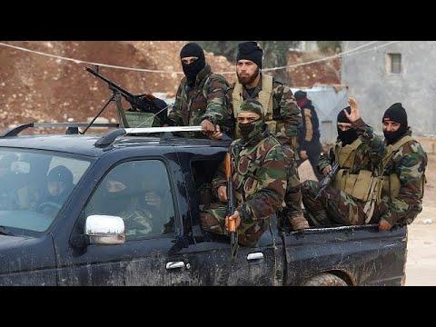 Σε εξέλιξη η επιχείρηση «κλάδος ελαίας» των Τούρκων κατά Κούρδων ανταρτών στη Β.Συρία…