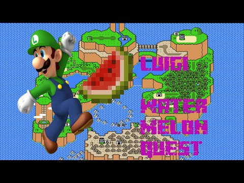Luigi game.exe - The watermelon quest - WAT U LOOKIN AT