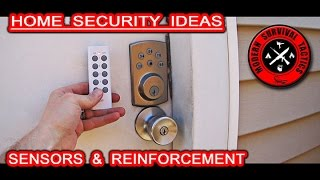 We want to present some of our home security ideas. We will talk about sensors and door/wall reinforcement options. One bonus tip is also included. You can check the links of the stuff used in this video below.It is better to be overprotected than be sorry one day!Links:WIRELESS REMOTE OUTLET SWITCH:http://www.amazon.com/Etekcity-Wireless-Electrical-Household-Appliances/dp/B00DQELHBS?ie=UTF8&psc=1&redirect=true&ref_=oh_aui_search_detailpageMAGNETIC DOOR SENSOR:http://www.amazon.com/Mothca-Wireless-Magnetic-Detector-Anti-theft/dp/B00U4N2EQ6/ref=sr_1_10?ie=UTF8&qid=1461709015&sr=8-10&keywords=door+alarmMOTION SENSOR ALARM:https://www.menards.com/main/home-decor/home-accessibility/every-room-accessibility/home-security-safety/home-monitoring-systems/white-wireless-motion-sensor-alarm/p-1444423844163-c-6470.htm?tid=-2061542097783359358METAL BRACKET:http://www.homedepot.com/p/18-Gauge-Hurricane-Tie-H10A/203328891STEEL MESH:http://www.homedepot.com/p/27-in-x-8-ft-Steel-Lath-2-5-METAL-LATH/202093395PEPPER SPRAY:http://www.amazon.com/SABRE-Red-Pepper-Spray-Strength/dp/B0007VHXO8?ie=UTF8&psc=1&redirect=true&ref_=oh_aui_search_detailpage------------------------------------------------------------------------------------------------------FOR MUCH MORE VISIT:http://www.modernsurvivaltactics.comhttp://www.store.modernsurvivaltactics.comhttps://www.google.com/+MODERNSURVIVALTACTICS