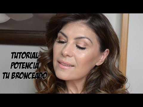Tutorial maquillaje para potenciar el bronceado