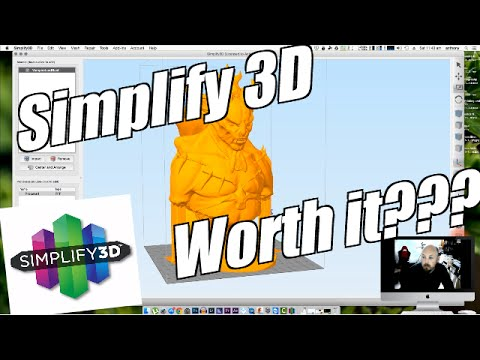A brief look at Simplify 3D ! Is it worth it?