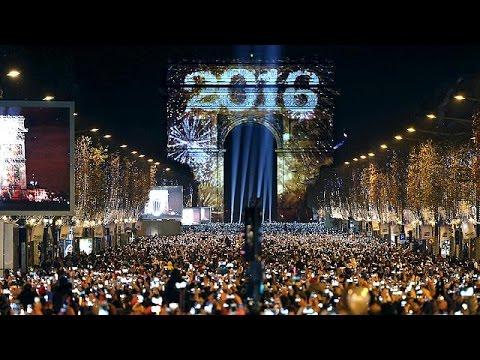 Φαντασμαγορική υποδοχή του 2016 σε ολόκληρο τον κόσμο