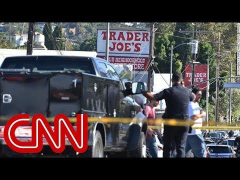 闖超市挾人質釀一死  洛杉磯槍手落網[影]