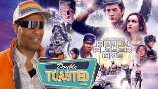 Video READY PLAYER ONE MOVIE REVIEW - Double Toasted Reviews MP3, 3GP, MP4, WEBM, AVI, FLV April 2018